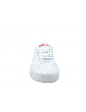 Buty sportowe damskie BIG STAR  DD274A423, Kolor biały