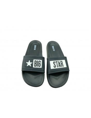 Klapki męskie BIG STAR DD174699,Kolor czarny