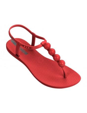 Sandały-japonki damskie Ipanema 82517-2225,Kolor czerwony