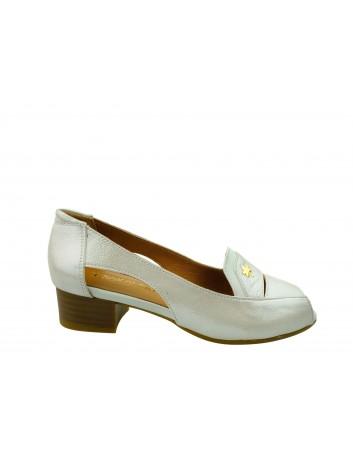 Sandały skórzane damskie 0436-426-617 T.Sokolski,Kolor beżowy