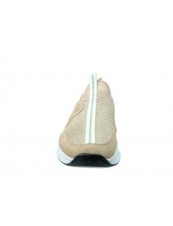 Letni but sportowy Rieker N5654-32R,Kolor jasny róż