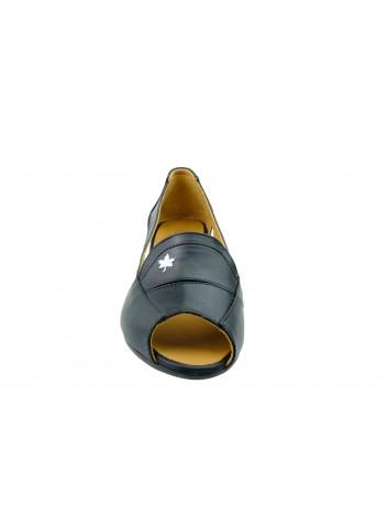 Sandały skórzane damskie 0436-426-617 T.Sokolski,Kolor czarny