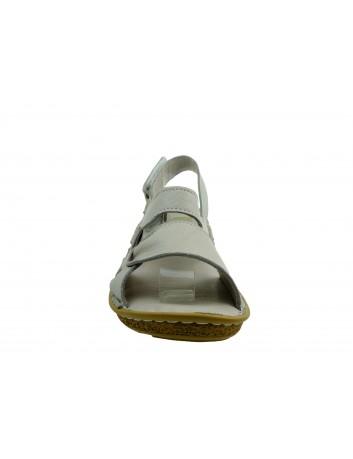 Skórzany komfortowy sandał T.Sokolski Wh 209, Kolor szary