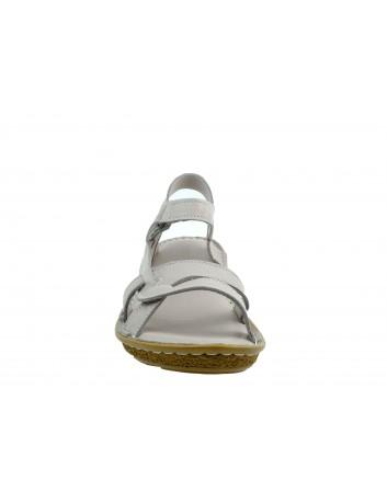 Skórzany komfortowy sandał T.Sokolski WH 207, Kolor jasny szary