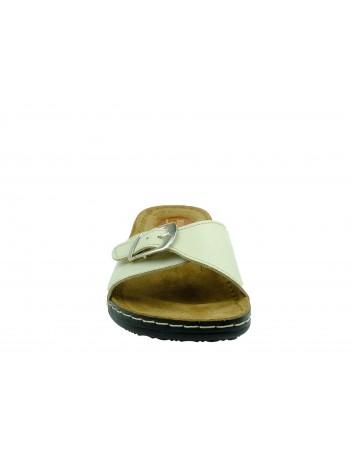 Skórzany klapek damski T.Sokolski V SERA 5700-2,Kolor beżowy