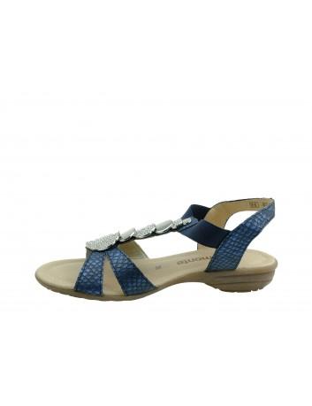 Skórzany sandał damski Remonte