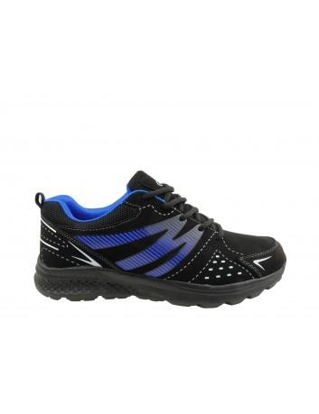 Sportowy but męski HI GEAR AB 063,Kolor czarny z niebieskim