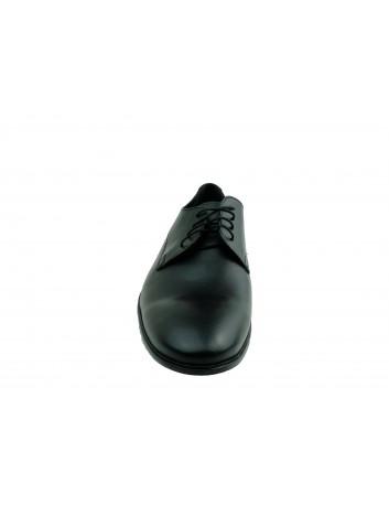 Półbut męski skórzany wizytowy ED 620,Kolor czarny