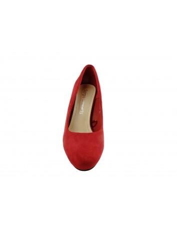 Czółenko damskie Sergio Leone PB200,Kolor czerwony