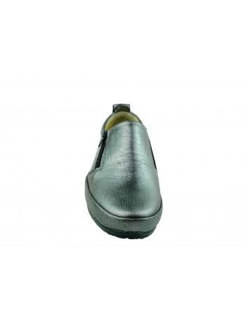 Półbut damski skórzany T.Sokolski BK SW052,Kolor platynowy
