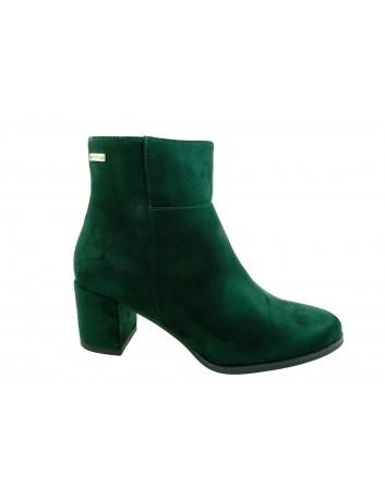 Botki damskie Sergio Leone BT522,Kolor zielony