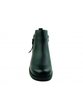 Botki damskie Sergio Leone BT554,Kolor czarny