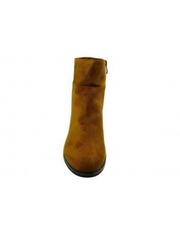 Botki damskie Sergio Leone BT522,Kolor brązowy