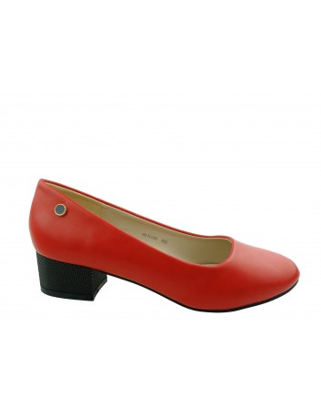 Czółenko damskie Goodin FL312A,Kolor czerwony