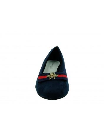 Czółenko damskie Goodin FL308,Kolor granatowy