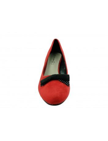 Czółenko damskie Goodin FL316,Kolor czerwony