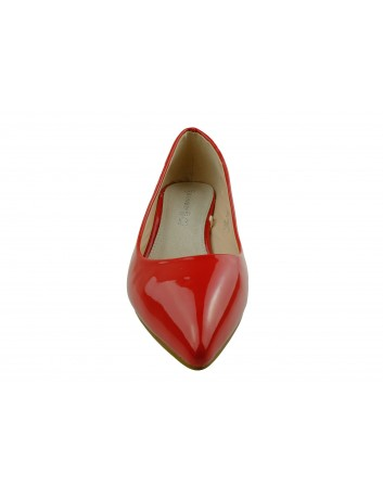 Czółenko damskie Goodin OD47,Kolor czerwony