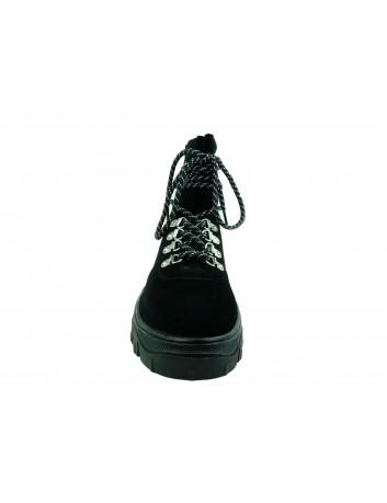 Trzewiki damskie Sergio Leone TR729,Kolor czarny