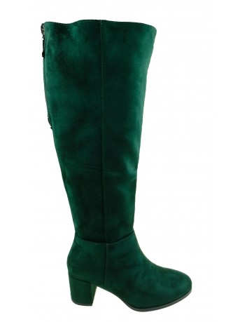 Kozak damski Sergio Leone KZ273,Kolor zielony
