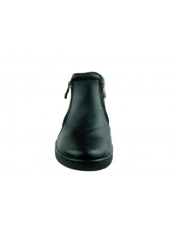 Botek damski skórzany Stella 4017, Kolor czarny
