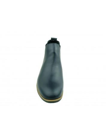 Botek skórzany Gaia Verdi GV SERENA E371,Kolor granat