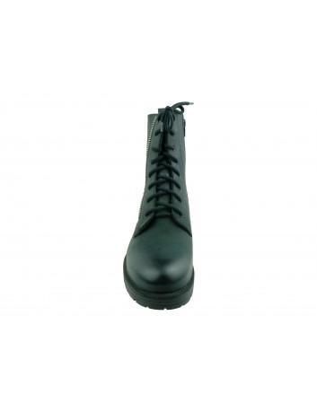 Trzewik damski skórzany Stella S4031,Kolor czarny