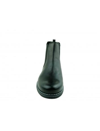 Sztyblet damski skórzany Stella S4049,Kolor czarny