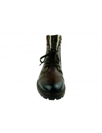 Trzewik męski skórzany Rieker 32133-25H,Kolor brązowy