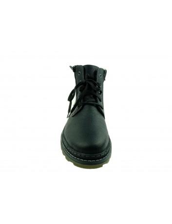 Trzewik męski skórzany Rieker F4221-00S,Kolor czarny