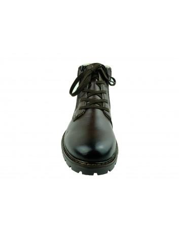 Trzewik męski skórzany Rieker 32121-25H, Kolor brązowy