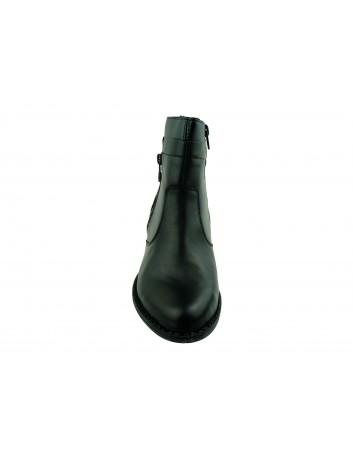 Botek damski Rieker Z7670-00S, Kolor czarny