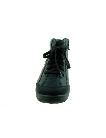 Trzewik damski Rieker L7110-01S,Kolor czarny