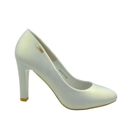 Szpilka damska Goodin GD FL15C,Kolor biały