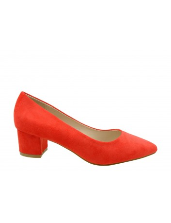 Czółenko damskie Goodin OD29,Kolor czerwony
