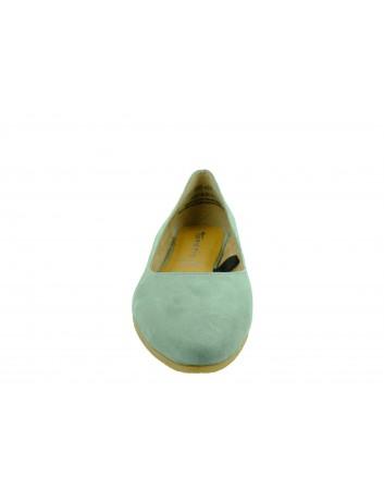 Czółenko damskie skórzane Tamaris 1-22118-24S,Kolor szary