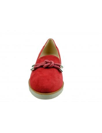 Półbut damski VINCEZA 20-10521,Kolor czerwony