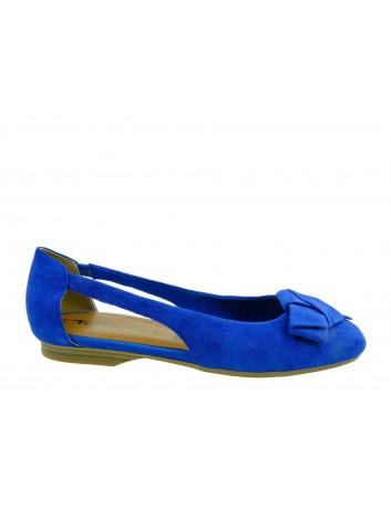 Balerina damska Tamaris 1-22106-24RY,Kolor niebieski