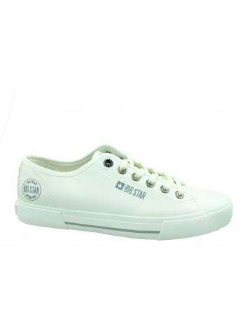 Trampki męskie BIG STAR FF174054,Kolor biały