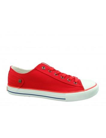 Trampki męskie BIG STAR DD174274SS20,Kolor czerwony