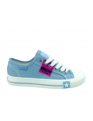 Trampki damskie BIG STAR FF274037,Kolor niebieski