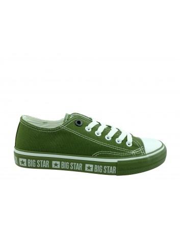 Trampki damskie BIG STAR FF274240,Kolor zielony