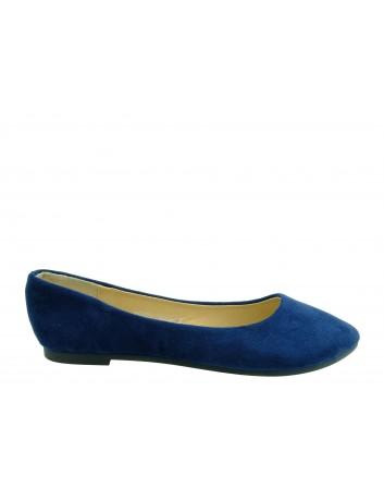 Balerina VINCEZA 20-18016,Kolor niebieski