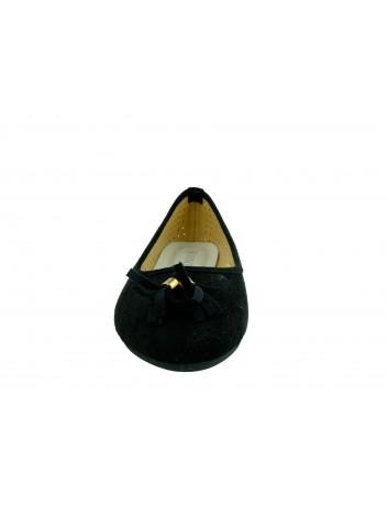 Balerina VINCEZA 20-18018,Kolor czarny