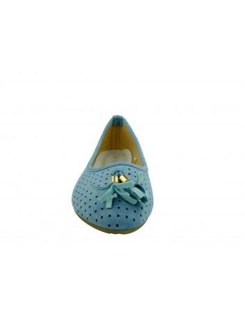 Balerina VINCEZA 20-18018,Kolor niebieski