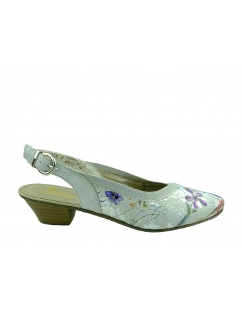 Sandał damski Rieker 58063-91I,Kolor biały