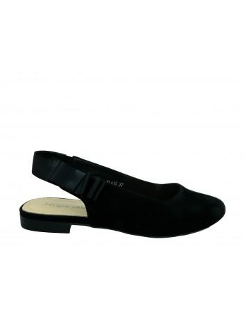 Sandał damski Sergio Leone BL615,Kolor czarny