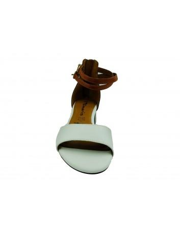 Sandał damski Tamaris 1-28220-24C,Kolor czarnybiały z granatem