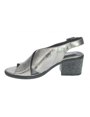 Sandał damski T.Sokolski LU G023-4002 , Kolor ciemno srebrny