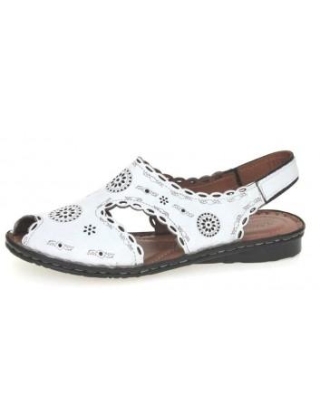 Sandały skórzane damskie T.Sokolski BK 1502,Kolor biały