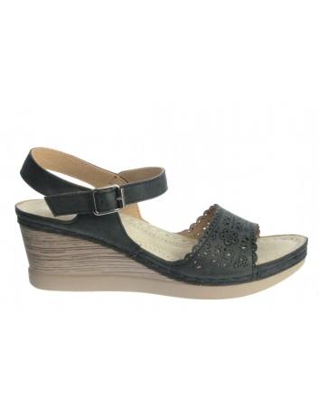 Komfortowy sandał damski T.Sokolski SK L20-28 ,Kolor czarny